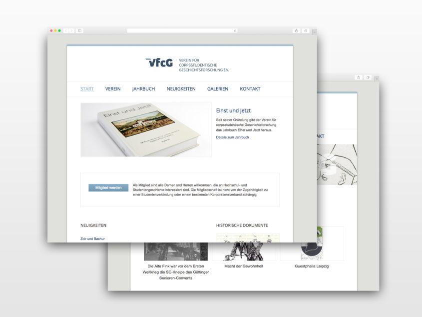 VfCG Website