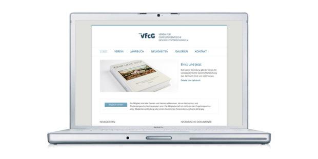 VfcG Webauftritt