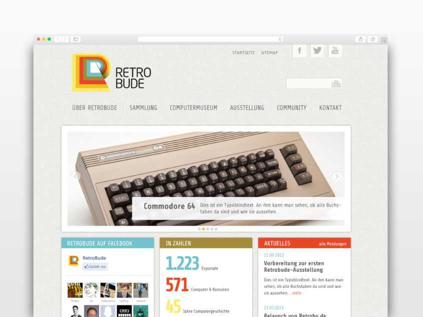 Retrobude Website
