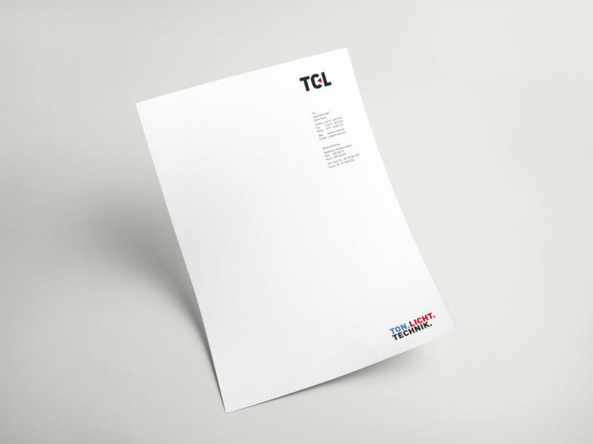 TCL Briefpapier
