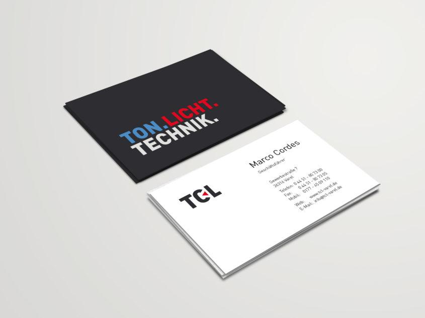 TCL Visitenkarte
