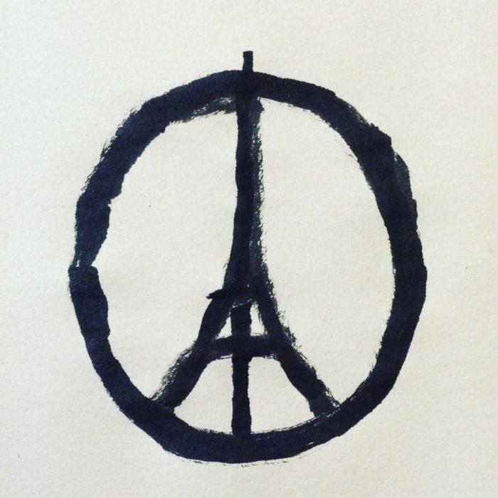 Peace for Paris Symbol