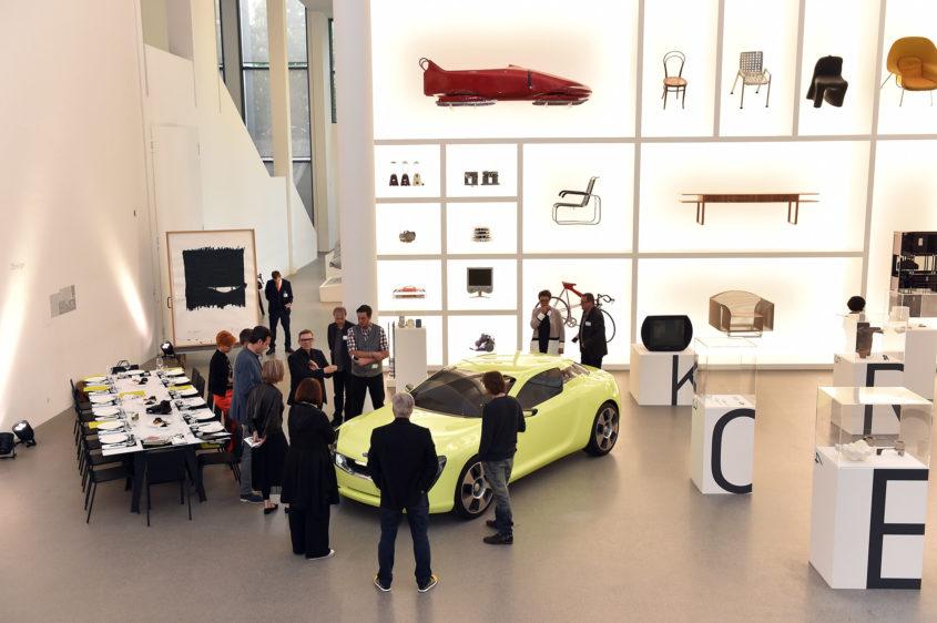 Kia Event in der Pinakothek der Moderne in Muenchen