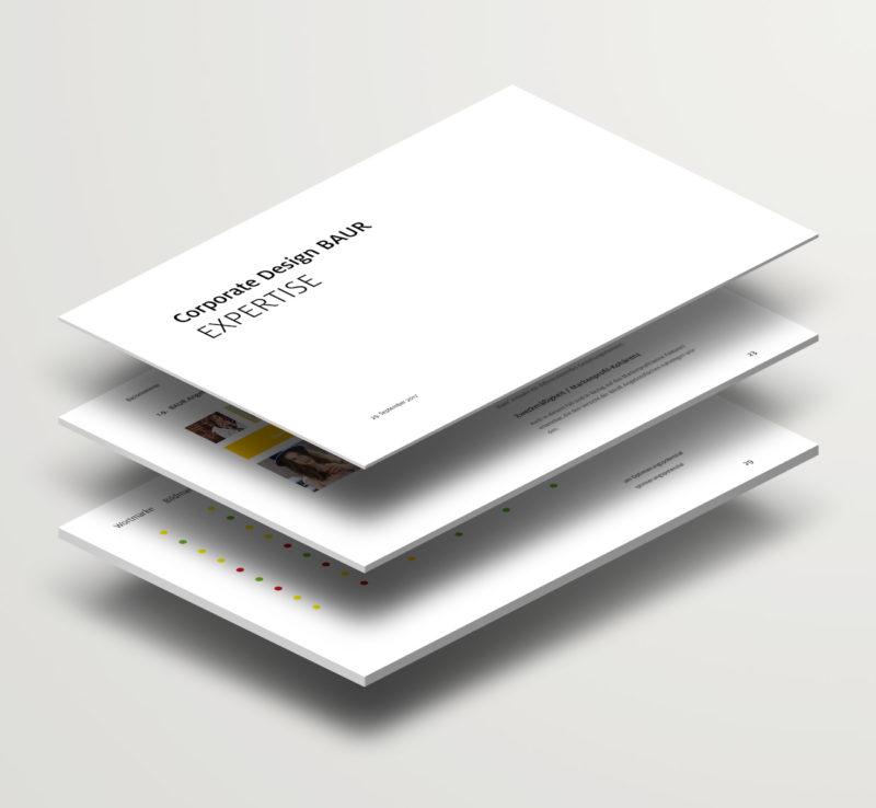 BAUR Corporate Design Expertise